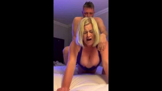 Breasty golden-haired cumming actually hard jointly
