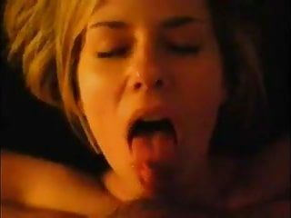 Fascinating milf with massive clitoris mini ramrod licking