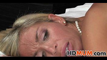 Breathtaking blond mum sex