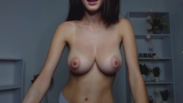 Sexy cam cutie 116: large natural firm boobs with aweesome nipps