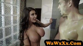 Wawxxx.com - august taylor acquires pounded in the shower - hardcore pornstar sex