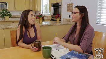 Tutoring turns into lesbo sex - dana dearmond and reena sky