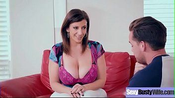 Sara jay cute pleasant hot large wobblers wife in hard sex act clip-23