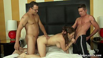 800Dad Grande Tit Milf Allison Moore Cuckold Double Penetration