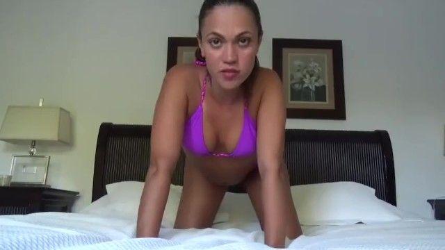 Bikini milf filthy talk