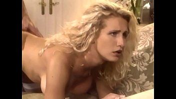 Breasty blond milf banging in haunch high nylons